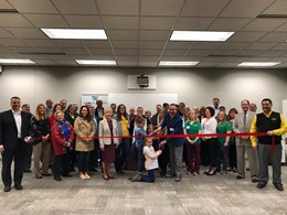 Wilson Health at Sidney City Schools ribbon cutting ceremony