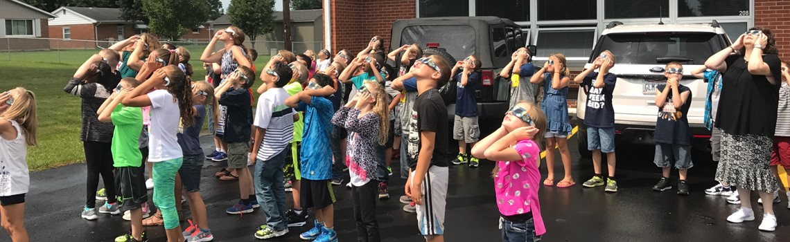 Longfellow Pride - Checking out the solar eclipse.