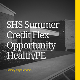 SHS Summer Credit Flex Opportunity - Health/PE