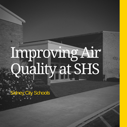 News Release Graphic - Improved Indoor Air Quality at SHS