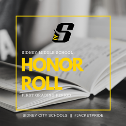 SMS First Grading Period Honor Roll Image