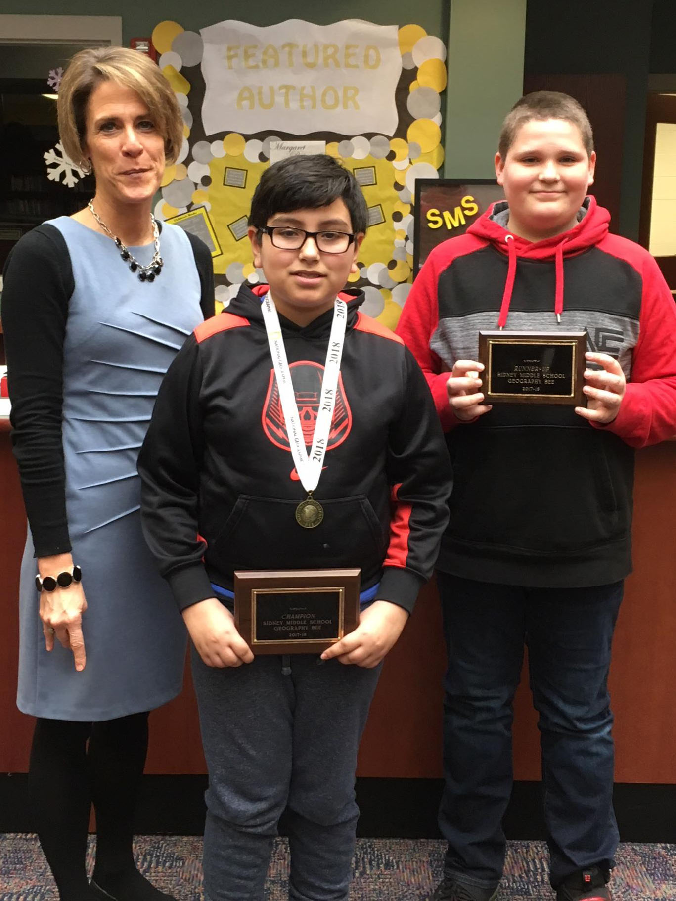 SMS Geography Bee Winner and Runner-Up