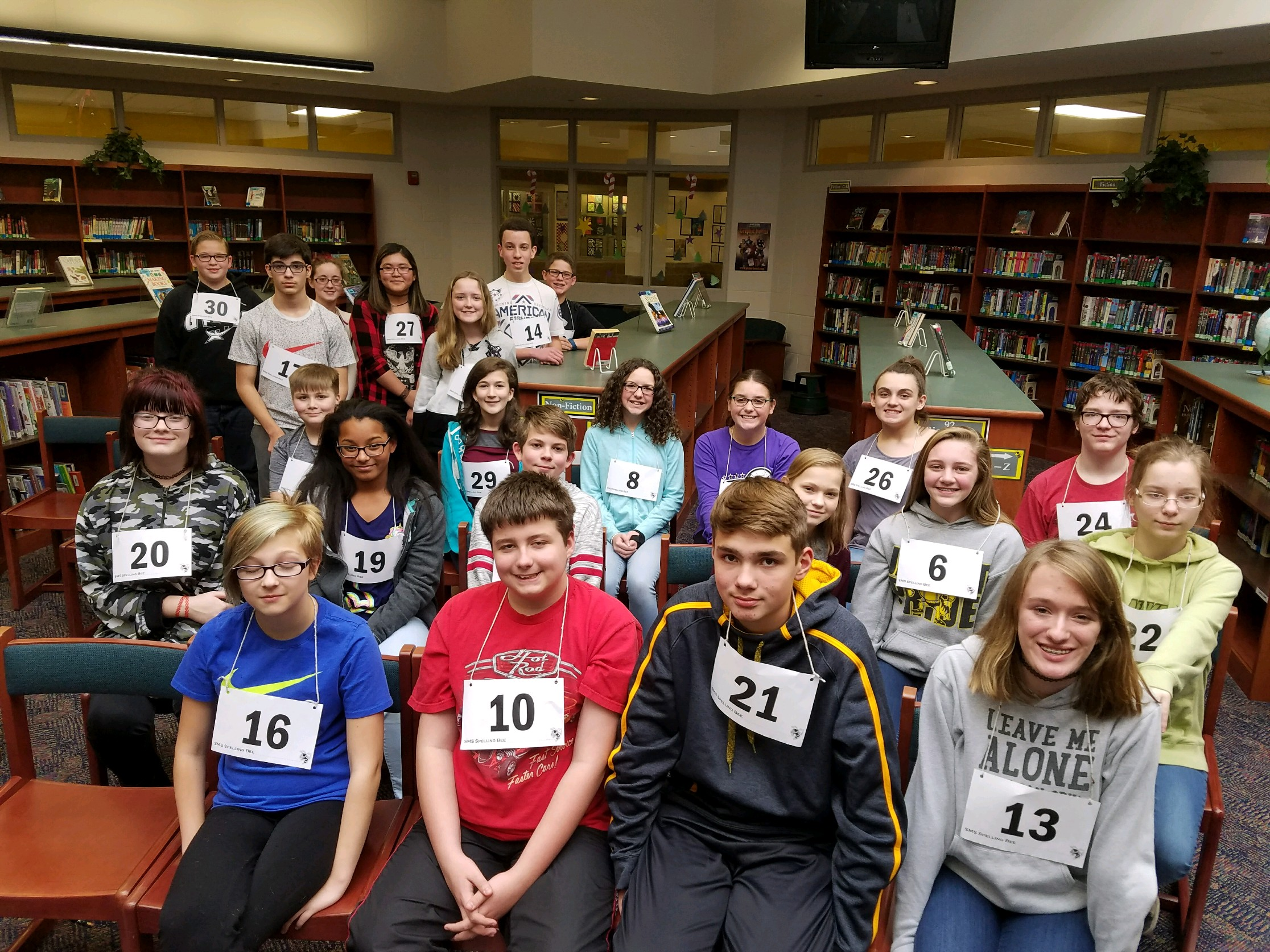 SMS 2017 Spelling Bee Participants